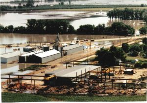 Midland Steel flood